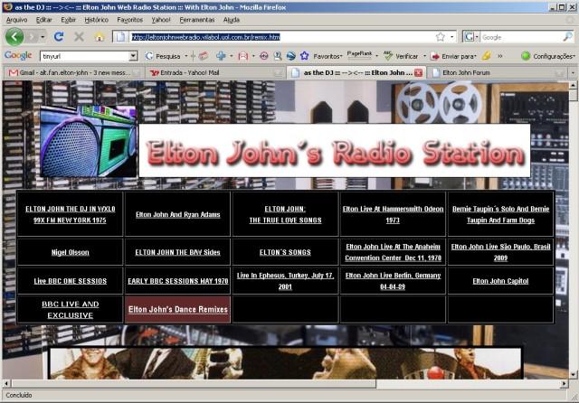 Elton John Web Radio